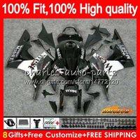 Инъекции кузова для HONDA черный запад сверху CBR600F5 CBR600RR CBR 600F5 67HC.10 CBR600 CBR 600 RR CC 600RR 600cc F5 2007 2008 07 08 OEM обтекателя