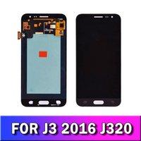 Samsung Galaxy J3 2016 J320 J320F J320H J320M J320FN LCD Ekran Dokunmatik Ekran Sayısallaştırıcı Meclisi İçin Cep Telefonu Değiştirme LCD
