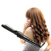 5in1 Multi-fonction Bigoudi Cheveux Lisseur Peigne Conique Chaud Curling Brosse Perle Fer À Friser Céramique Styling Outils