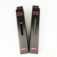 Ecigs Amigo Itsuwa Max Vape Pil 510 Konu Pil Vape Kalemler Ön Isıtma Piller Kalın Yağ Atomizer Buharlaştırıcı Için 380 mAh Değişken Gerilim