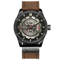 Business Mens Watches Top Brand Luxury Leather Strap Quartz ...