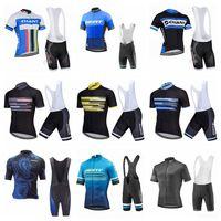 2020 Hombres gigantes Ciclismo Jersey Traje de manga corta Camisa de bicicleta BIB Shorts Set Ciclismo Ropa MTB Bike Use Ropa Ciclismo K20042716
