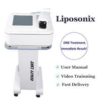 2019 Newst liposonix 바디 슬리밍 FDA 승인 비 수술 치료 liposonix 홈 살롱 사용 체중 감량 지방 흡입 기계