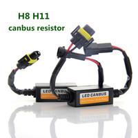 2pcs H7 H4 H11 HB4 9005 9006 H1 auto principale di girata Singal resistore del carico di Canbus H13 9004 9007 9008 senza errori di cablaggio Canceller Decoder