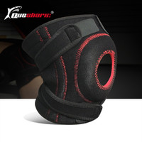 1 Pc Sport Fitness Ginocchiere Supporto a molla Patella Guardia Running Weightlifting Knee Brace Regolabile Wrap Straps Bandage