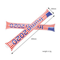 Trump 2020 Usa flaga Nadmuchiwane kije Cheerleaderki Kij przed dopingującymi kijami Maker hałasu USA Dostawy wyborów