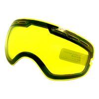 العدسة الواقية للتزلج UV400 نظارات التزلج على الجليد العدسة توهج لضعف ضوء غائم لGG-201 / S-3100 (العدسة فقط)