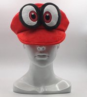 Hot New Super Mario Bros Odyssey Cappy Plush Hat Anime Fleec...