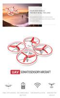 Infrarot Sensing Smart Watch von Induktion UAV Fernbedienung Flugzeuge Suspension Hindernisvermeidung Vierachsen Flugzeuge UFO Spielzeug UFO Spielzeug