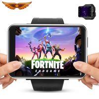 DM100 2.86 дюймовый экран 4G смарт-часы Android 7.1 5MP камера 480 * 640 Разрешение 2700 мАч Батарея Smartwatch Men