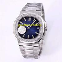 PF V2 Nautilus 5711 Алмазный Мужские часы Спортивные часы Cal.324 автоматические механические наручные часы 28800 полуколебаний сапфировое 904L из нержавеющей стали