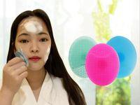 Silikon Yüz Temizleme fırçası Yıkama Tampon Edici siyah nokta Yüz Temizleme Fırçası Aracı Yumuşak Derin Temizleme Yüz Fırçası