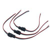 3 핀 LED 커넥터 남성 / WS2811에 대한 여성 JST SM 3 핀 플러그 커넥터 와이어 케이블 스트립 빛 LED 모듈을 주도