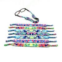 네오프렌 선글라스 벨트 안경 밴드 안경 로프 친환경 편안한 내구성 패브릭 세련된 고품질 다채로운 스트립 테이프