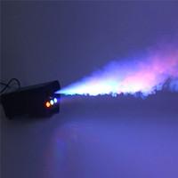 Дистанционное управление Led500w Дымовая машина Красочный Распылитель Сцена Освещение Дымовой Генератор Автомобильный Распылитель Хэллоуин Спецэффекты