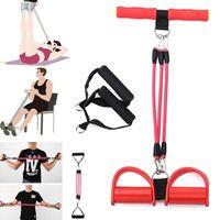 دواسة التمارين حبل سحب فرق لياقة مقاومة النساء الرجال الجلوس سحب المعدات الحبال اليوغا اللياقة البدنية