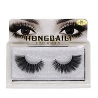 긴 크로스 가짜 눈 속눈썹 수제 두꺼운 검은 색 가짜 속눈썹 확장 여성 메이크업 도구까지 패션 속눈썹 자연 만들기
