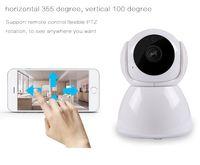 1080P 720P Accueil Sécurité Caméra IP sans fil intelligent WiFi caméra Wi-Fi Night Vision Surveillance Babyphone HD Mini caméra CCTV V380