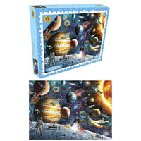 1000 шт Пазлы Развивающие игрушки Декорация Космические звезды Обучающие головоломки игрушки для детей / взрослых Рождество Хэллоуин подарков