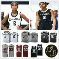 NCAA Gianna Maria Onore 2 GIGI Gianna Uconn Huskies College Merion Mamba XX 33 Средняя школа Мемориал пенсионеров