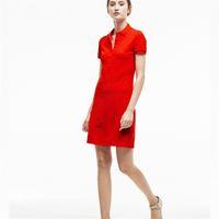 Крокодил женские дизайнерские платья мода 100% хлопок рубашка платья повседневная поло одежда A-линии юбка свежая сладкая одежда wp2lv4i