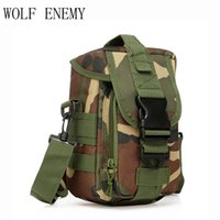 Outdoor Small Tactical Utility Pouch Army Molle Bag Tools Ma...