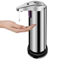 Otomatik Sabunluk Elektrikli Sabun Dağıtıcı Paslanmaz Çelik Dokunmamış Oto El Sabunluk Banyo Mutfak Otel Restoranı