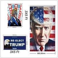 Decor Banner Trump Flag America Again per President USA Donald Trump Election Banner Flag Donald Flags T76543