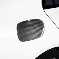 Karbon Fiber Araba Yakıt Deposu Cap Paneli Dekorasyon Kapak Trim Mercedes Benz C Sınıfı W205 2015-19 Dış Modifiye Aksesuarları