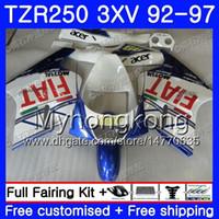 키트 파란색 흰색 빛 YAMAHA TZR250RR 용 RS TZR250 92 93 94 95 96 97 245HM.27 TZR 250 3XV YPVS TZR 250 1992 1993 1994 1995 1996 1997 페어링