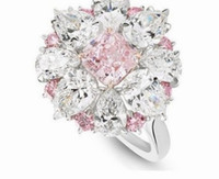 2pcs / lots 저렴한 가격 고품질 무료 배송 멋진 다이아몬드 크리스탈 지점 스타일 레이디스 반지 크기 6 - 10 (8ghg
