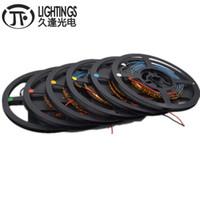 5M 0805 3mm 폭 PCB 0805 SMD 120leds / m 슈퍼 밝은 LED 스트립 레드 / 그린 / 블루 / 화이트 따뜻한 / 화이트 / 오렌지 / 핑크 IP30 DC12V