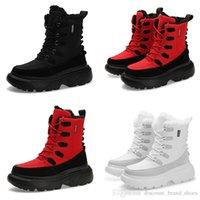 2020 الحارة رشيق لينة مصمم الشتاء الدانتيل TYPE2 ثلاثية بيضاء سوداء الرجل الأحمر صبي الرجال حذاء رجالي من المدربين احذية الحذاء حذاء المشي في الهواء الطلق