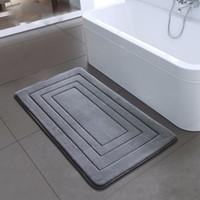 Yüksek Kalite Banyo Halısı Banyo Yatak odası Kaymaz paspaslar Köpük Halı Duş Halı Banyo Mutfak Yatak 40x60cm 50x80cm için