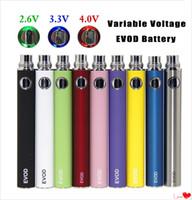 Ego variable Spannung EVOD VV Vorheizbecher Batterie Batterie 650 900 1100mAh Twist Ecigarette Spinner Dampf Pen E CIGS OEM verfügbar