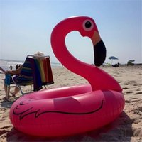 Inflatable Floating Swimming Pool Inflatable Flamingo Float ...