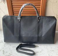 مصمم-2019 حقيبة أزياء الرجال جديدة للنساء السفر واق من المطر أكياس كبيرة قدرة الرياضة حقائب بو الحقائب الجلدية 55cm71