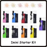 2019 Top Quality imini épais Cartouches d'huile Kits de vaporisateurs 520mAh Box Mod Batterie 510 Fil Liberty V1 Réservoir Cire Atomiseur Vape Pen Kit DHL