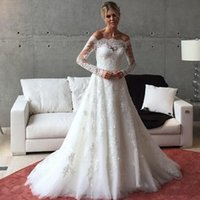 2018 Vintage Victorian Country Style Wedding Dresses Bridal ...