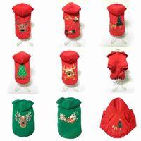 pet собака костюм зимняя одежда Тедди бишон Рождество собака одежда хлопок одежда 8 стили pet украшения Собака поставки мода