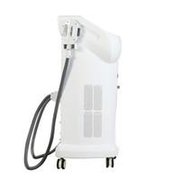 2 Dikey Ağrısız IPL SHR Epilasyon Cilt Gençleştirme rf + Dövme Silme Lazer Etkili Cilt Bakım Makine Kolları