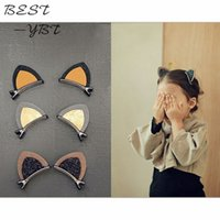 1Pair Cat Ear Style Baby Hair Clip Hair Accessories Children...