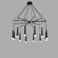 Siyah parıltı Led Lamba Tasarımı Modern Avize Metal Işık Fikstür Salon Mutfak Yemek Odası Dekorasyonu Ev Aydınlatma 110V 220V