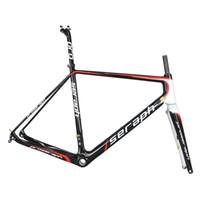 Toray Full Carbon Fibra Cascalho Cascalho Quadro GR029, Bicicleta Quadro de Cascalho Fábrica Venda Direta OEM Famoso Marca Carbono Cyclocross Quadro