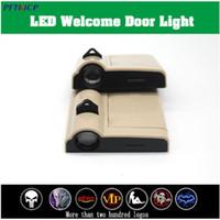 2 pcs Porta de carro Welcome Light Wireless Car Styling LED Logo Projetor Laser Light ford BMW Toyota Mercedes Audi VW