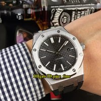 Royal Date New 15400 Black Dial Asian 2813 Automatic Mens Wa...