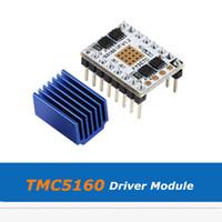 3D 프린터 부품 대형 히트 싱크가있는 TMC5160 V1.2 SPI 57 스테퍼 모터 드라이버 모듈 음소거