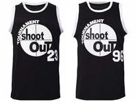 Navio de EUA Birdie # 96 Massaw # 23 Jersey de basquete Acima do tournament de RIM Shootout homens homens todos costurados S-3XL de alta qualidade