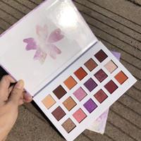 IKALU сталкиваются палитра макияжа вишневый цвет тени для век красоты повестки дня 2018 лучший год даже тени для век Plattes косметика для девочек