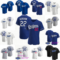 50 Mookie Betts 2020 New Jersey Corey Seager Enrique Hernandez Julio Urias Justin Turner Kershaw Pederson Utley Maeda Muncy Baseball-Shirts